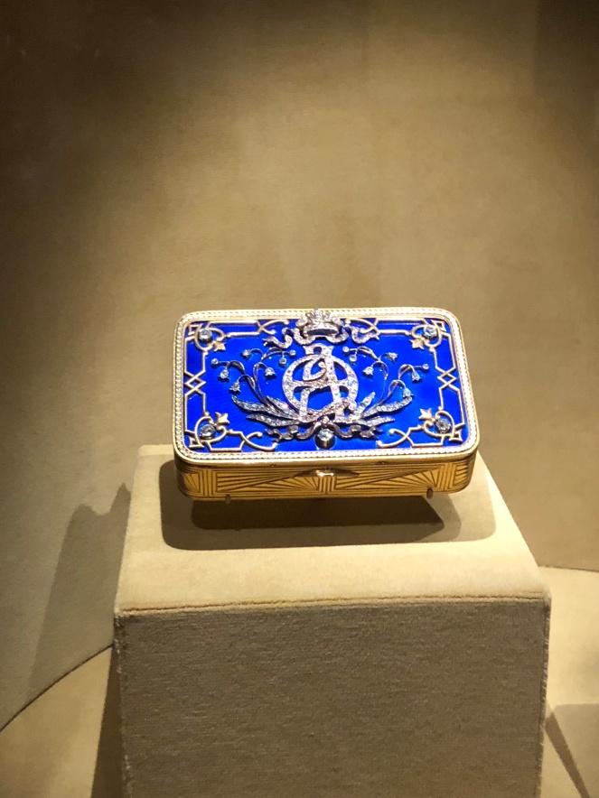 Hillwood presentation box Faberge