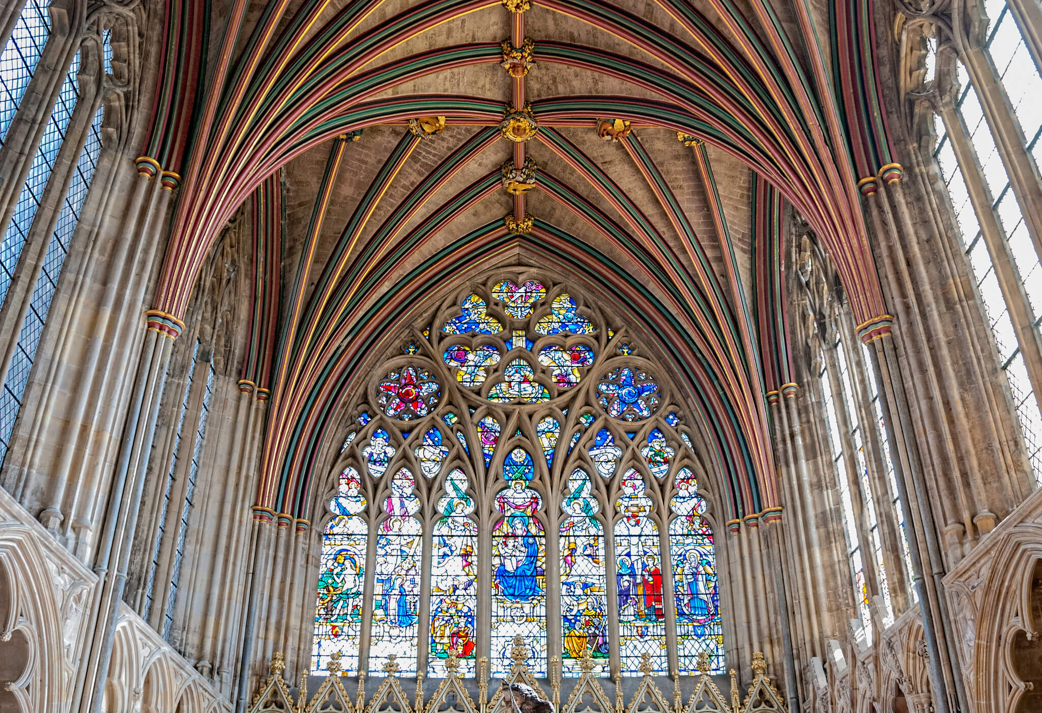 Exeter Cathedral Gothic Architecture