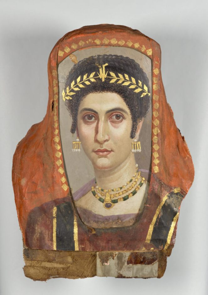 Getty Faiyum mummy portrait