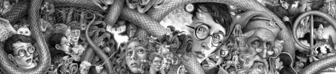 Harry Potter a History of Magic art by Brian Selznick (c) Scholastic
