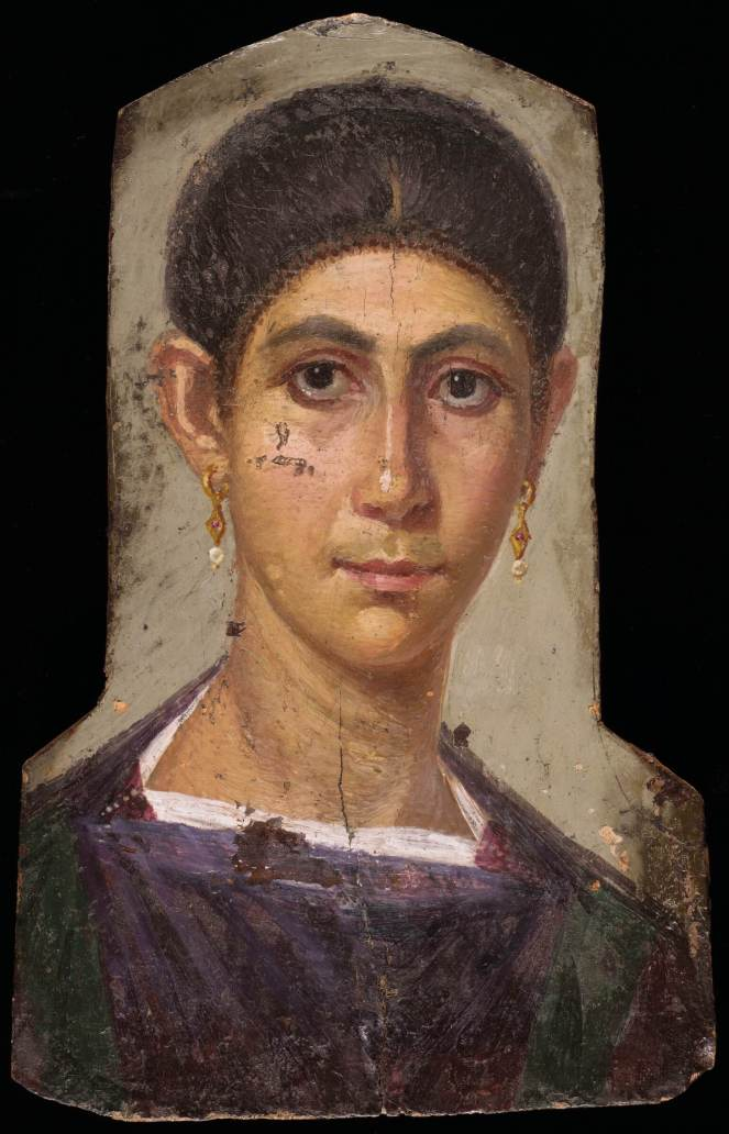 Harvard Faiyum mummy portrait