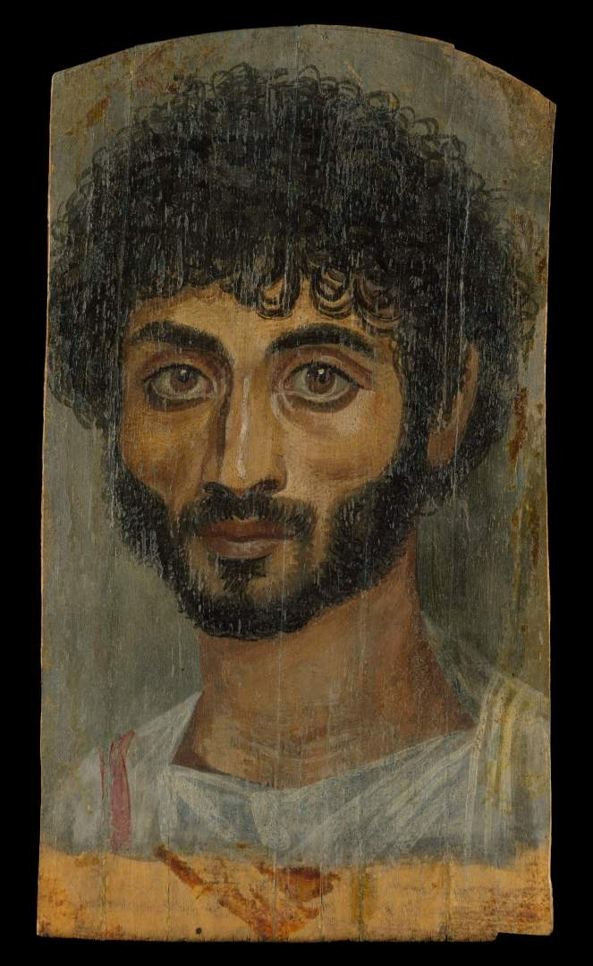 Met Faiyum portrait bearded man