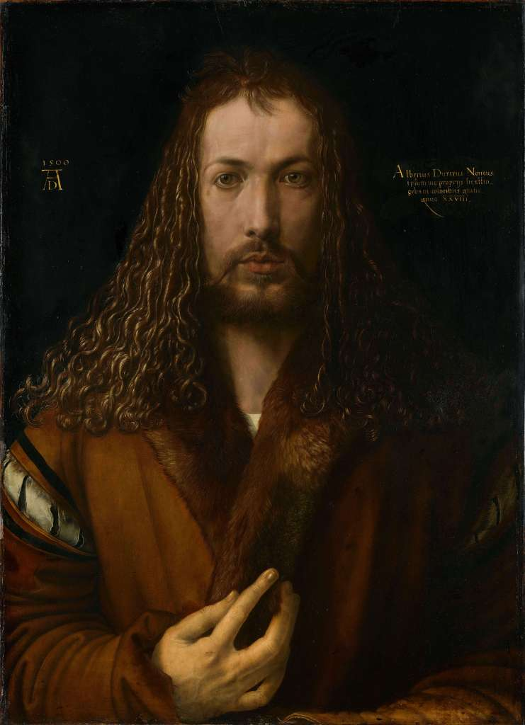 Albrecht_Dürer - 1500 self-portrait