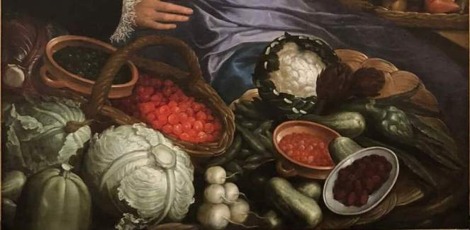 Still life Flemish painting