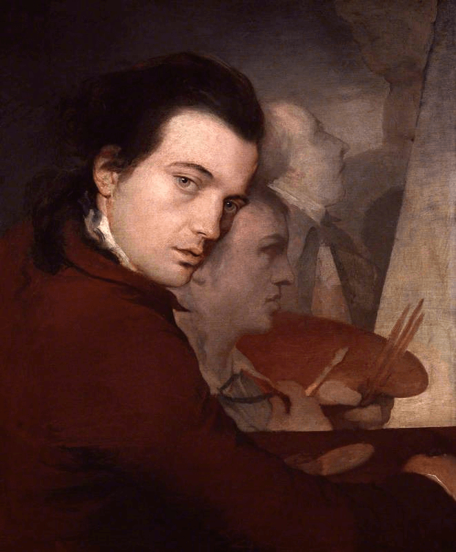 James Barry Dominique Lefevre and James Paine the Younger by Barry