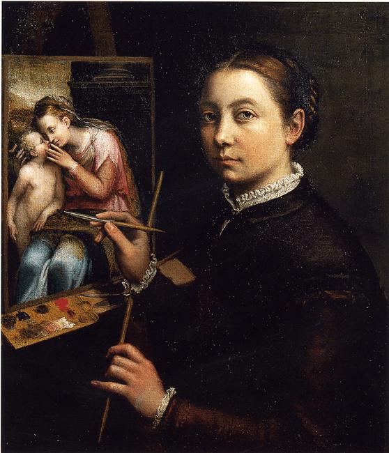 Sofonisba Anguissola self portrait