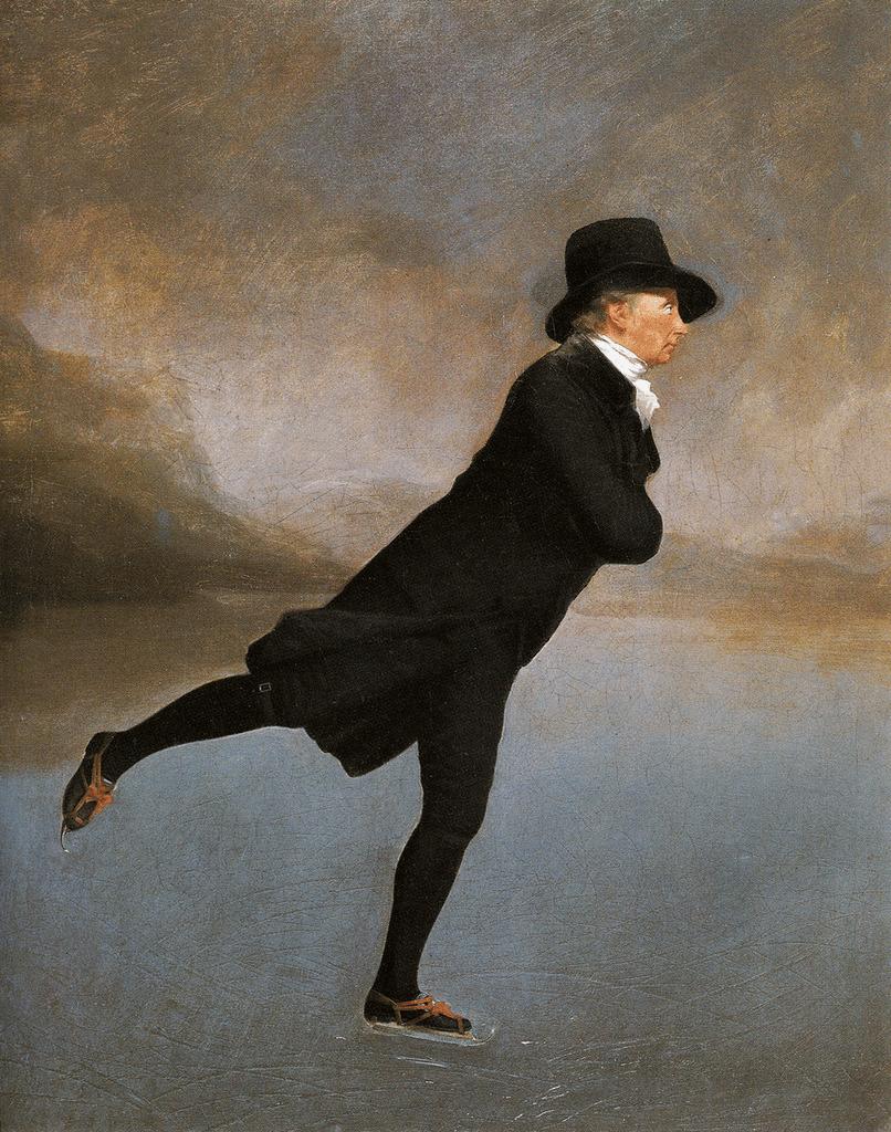 The Skating Minister by Sir Henry Raeburn