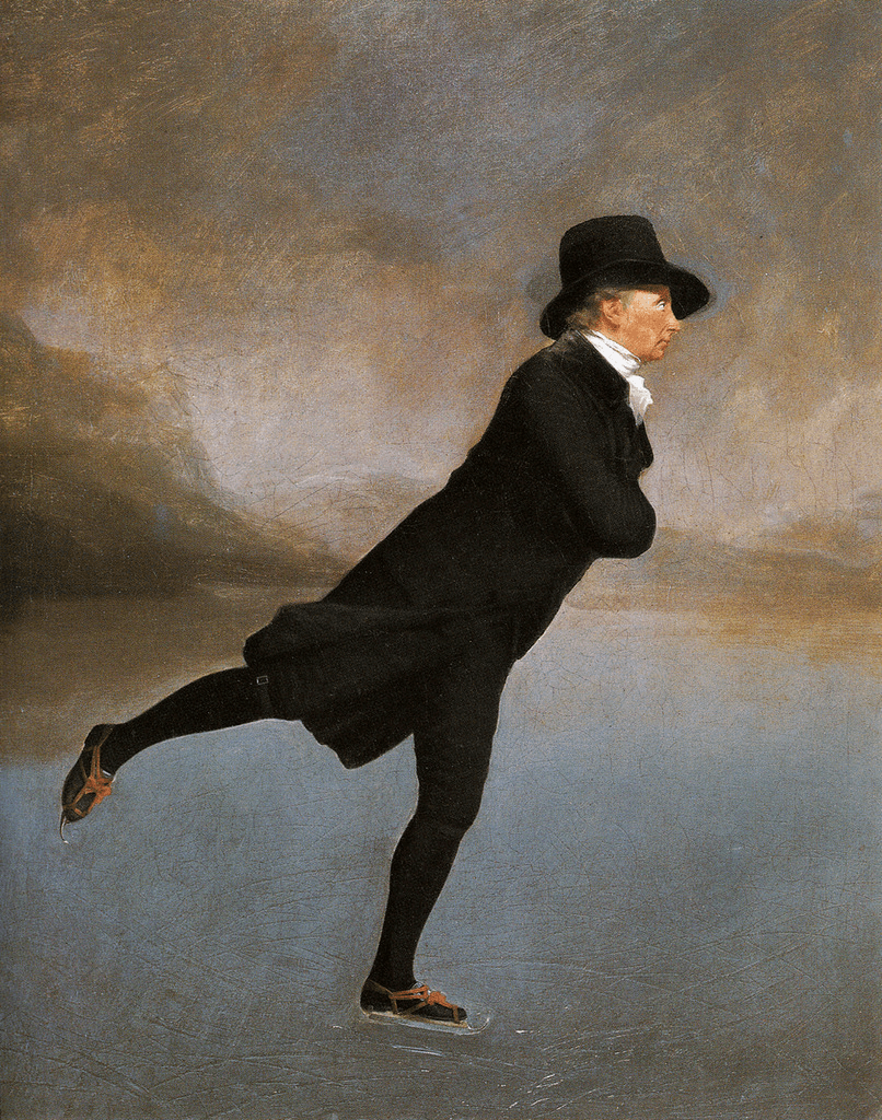 The Skating Minister by Sir Henry Raeburn
