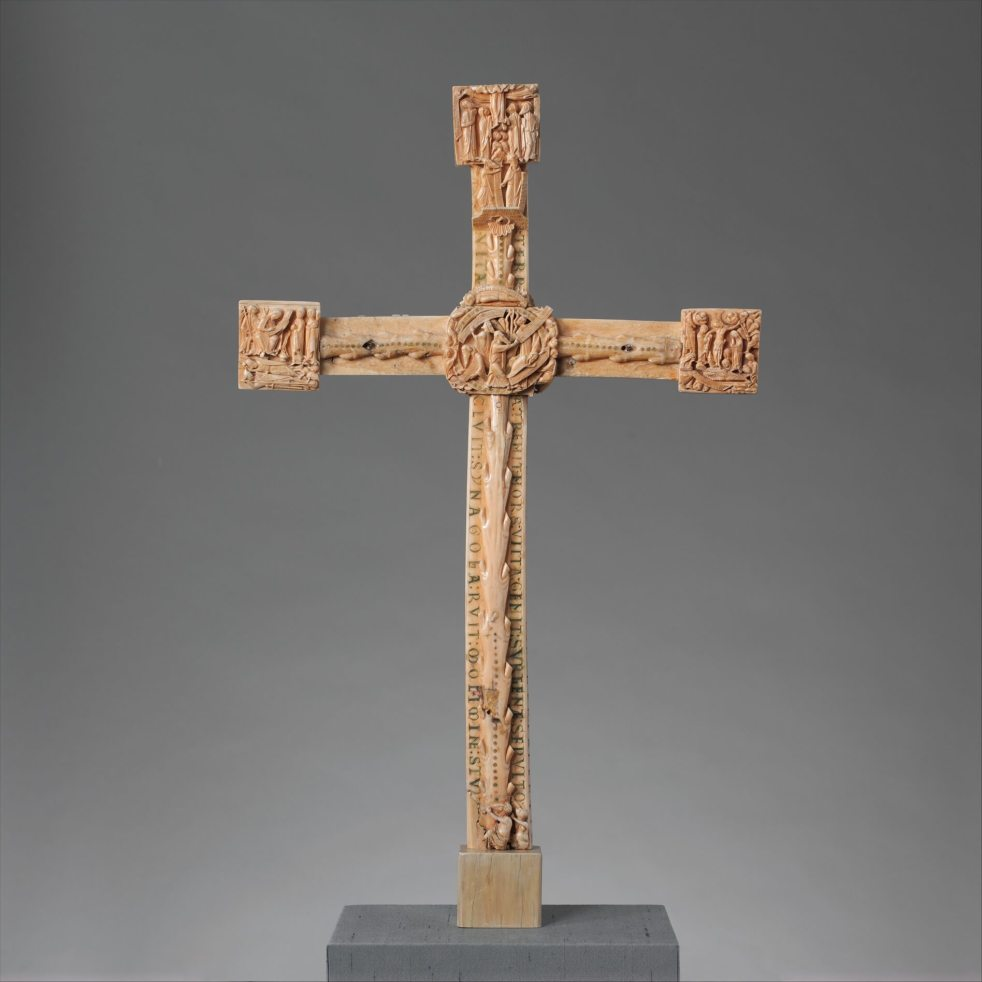 The Cloisters Cross recto King of the Confessors