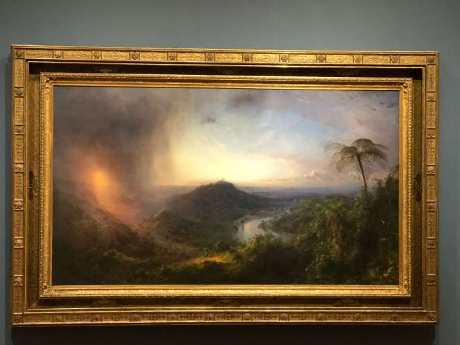 Vale of St. Thomas, Jamaica by Frederick Edwin Church Wadsworth Athenaeum