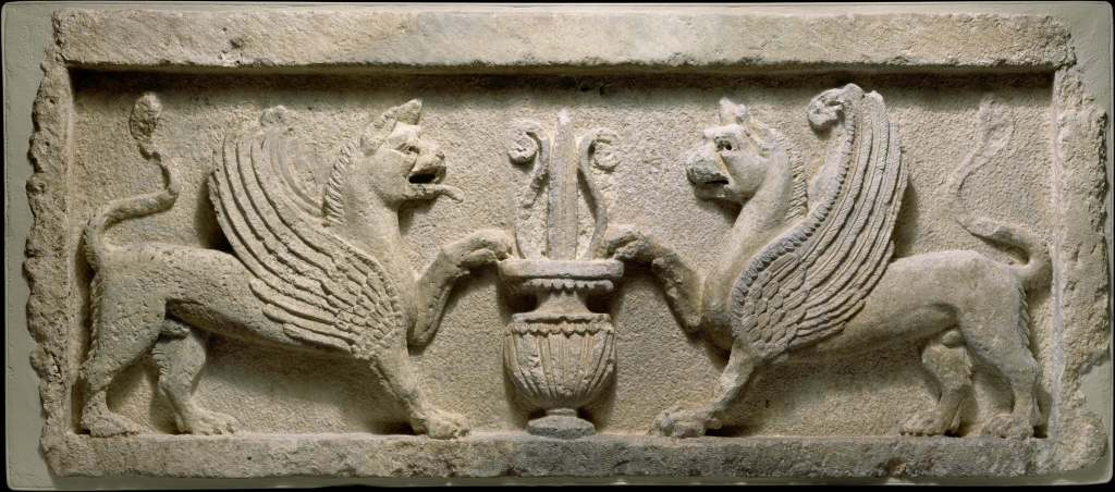 Mesopotamian door lintel, The World Between Empires