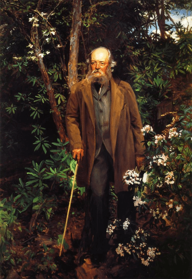 Frederick Law Olmstead by John Singer Sargent