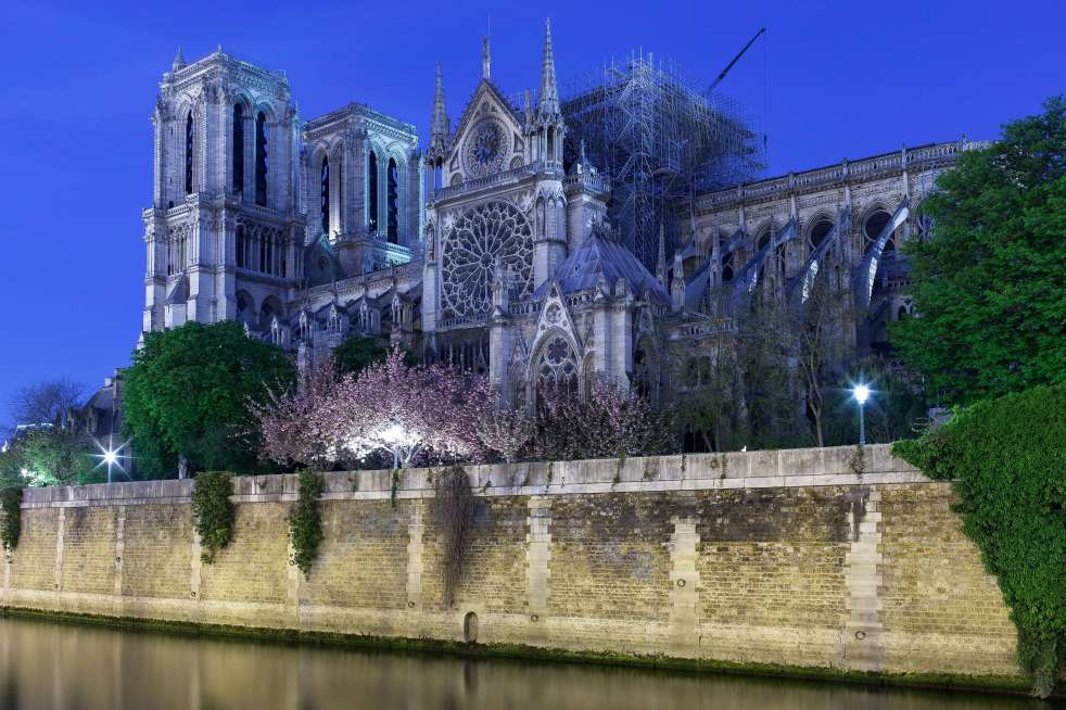 Notre-Dame after the fire