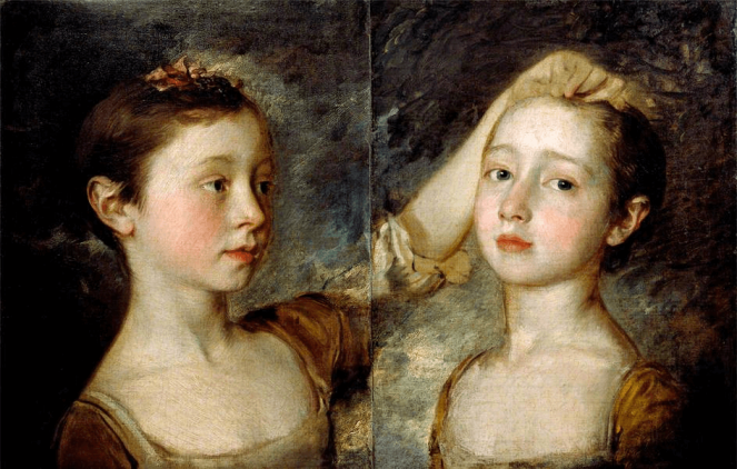 Thomas Gainsborough Portrait of the Artist's Two Daughters