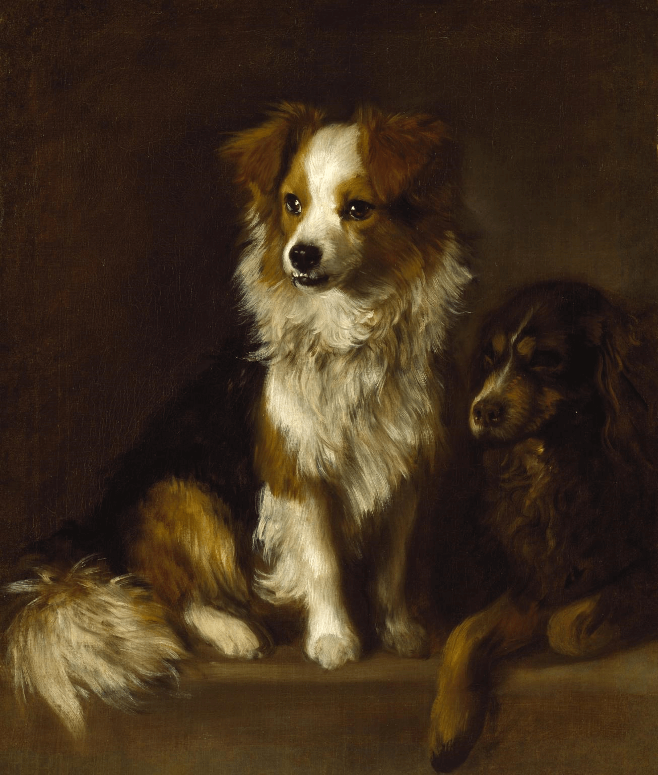 Thomas Gainsborough Tristam and Fox