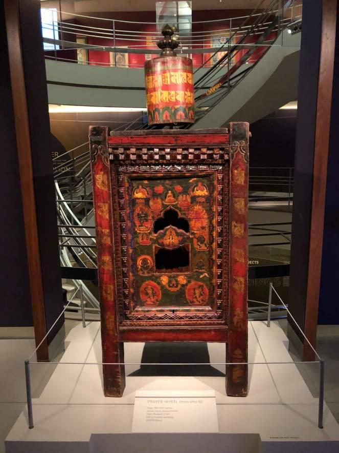 Tibetan prayer wheel Rubin Museum
