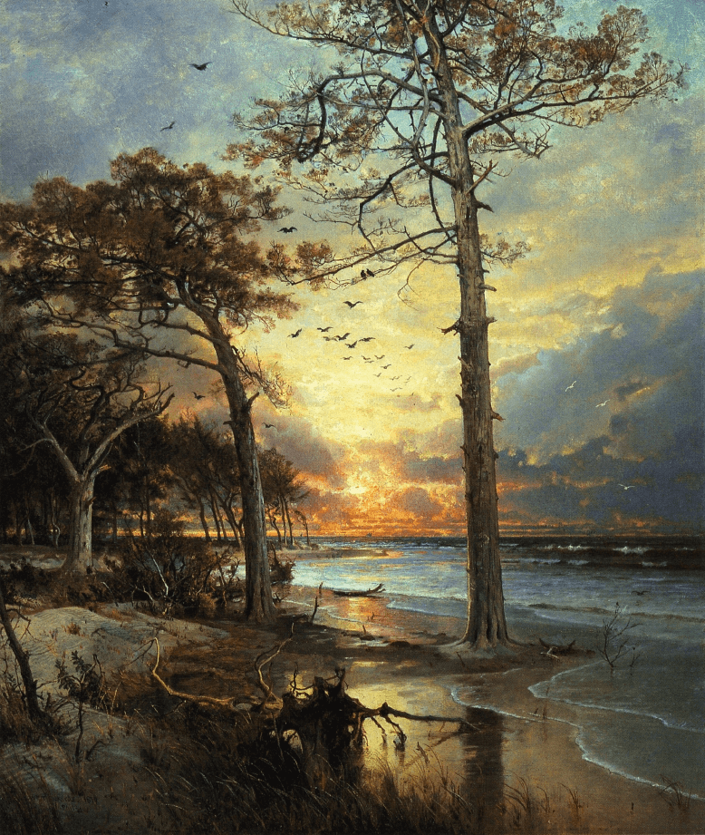 At Atlantic City by William Trost Richards