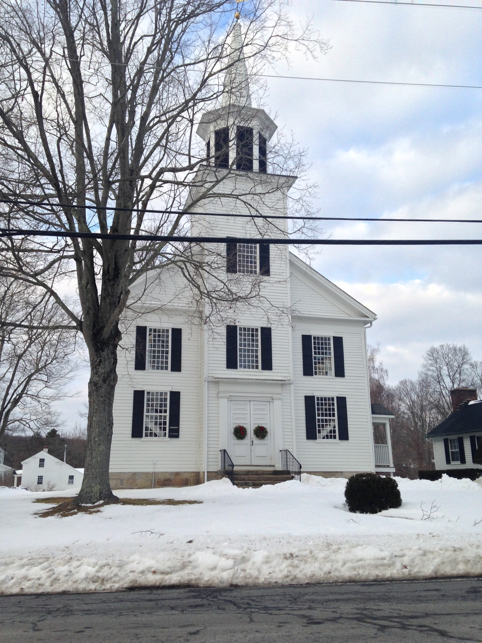 Bridgewater, CT church