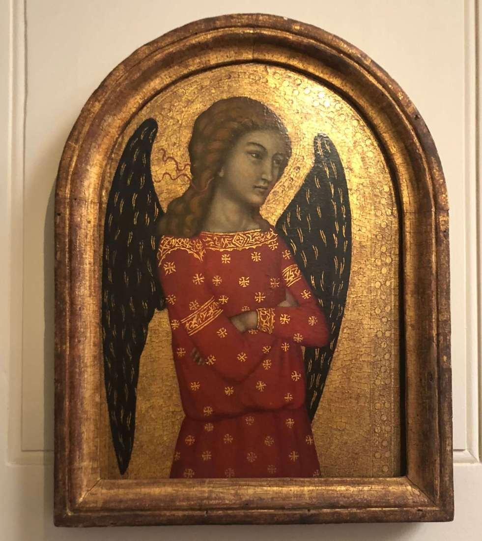 Niccolo di ser Sozzo Tegliacci grumpy angel