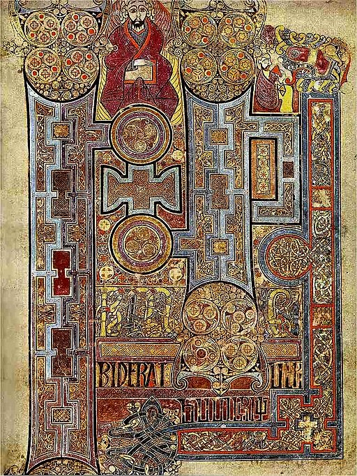 Book of Kells, Folio 292r.
