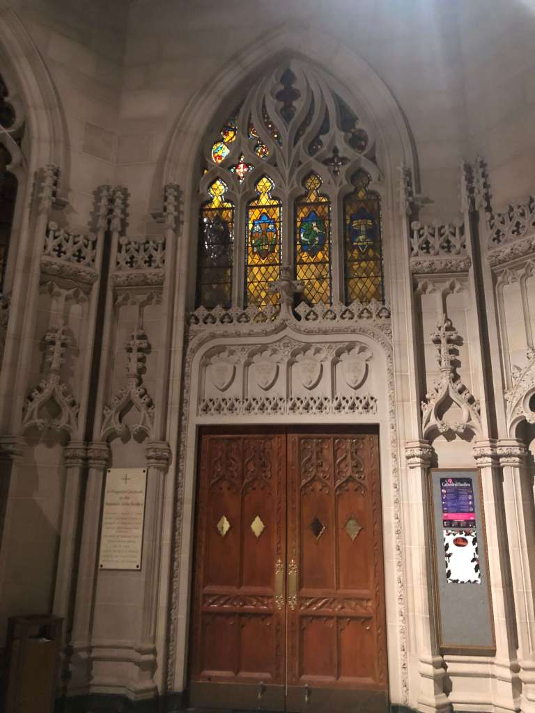 Narthex - Cathedral Basilica of the Sacred Heart, Newark, New Jersey