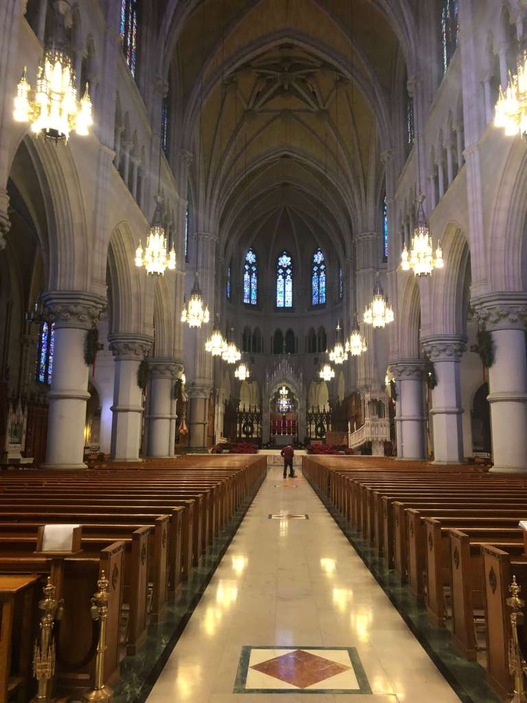 Nave - Cathedral Basilica of the Sacred Heart, Newark, New Jersey
