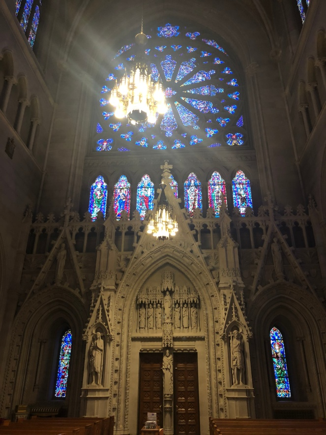 Transept arm - Cathedral Basilica of the Sacred Heart, Newark, New Jersey