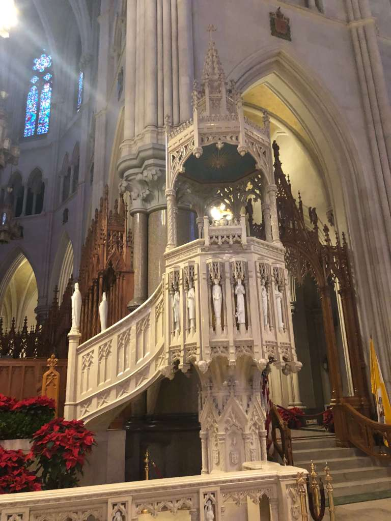 Pulpit - Cathedral Basilica of the Sacred Heart, Newark, New Jersey