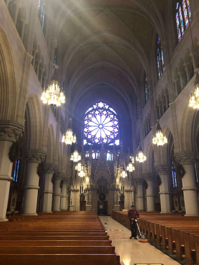 Rose window - Cathedral Basilica of the Sacred Heart, Newark, New Jersey