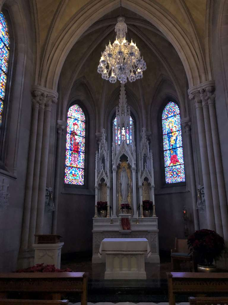 Lady Chapel - Cathedral Basilica of the Sacred Heart, Newark, New Jersey