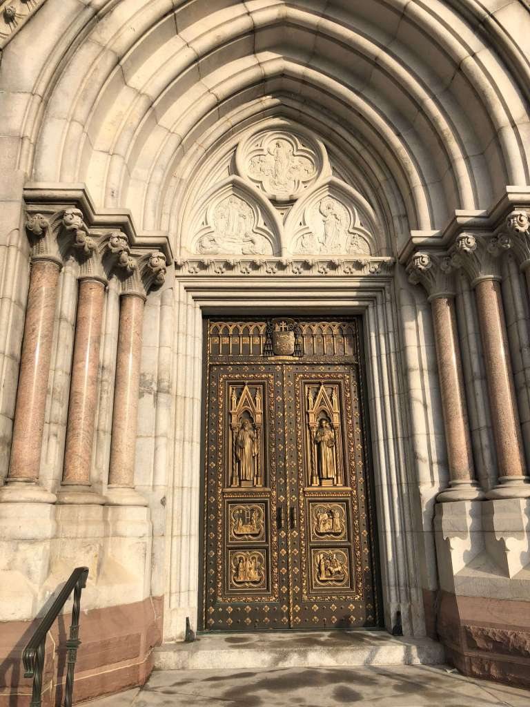 Portal - Cathedral Basilica of the Sacred Heart, Newark, New Jersey