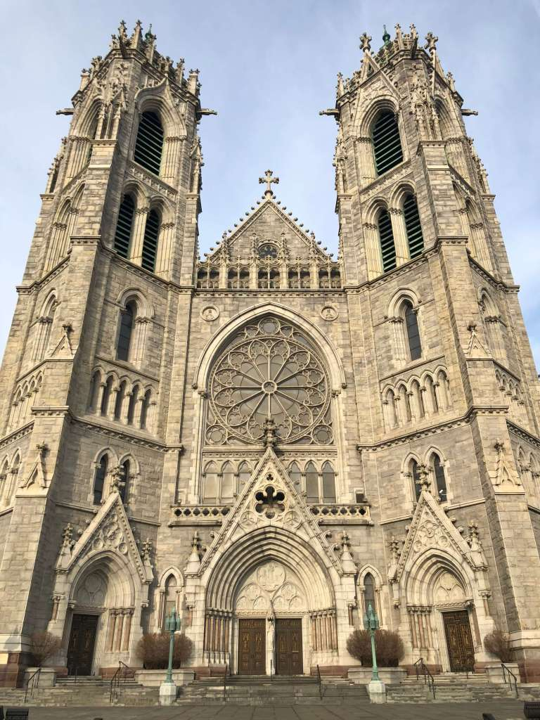 Main facade - Cathedral Basilica of the Sacred Heart, Newark, New Jersey