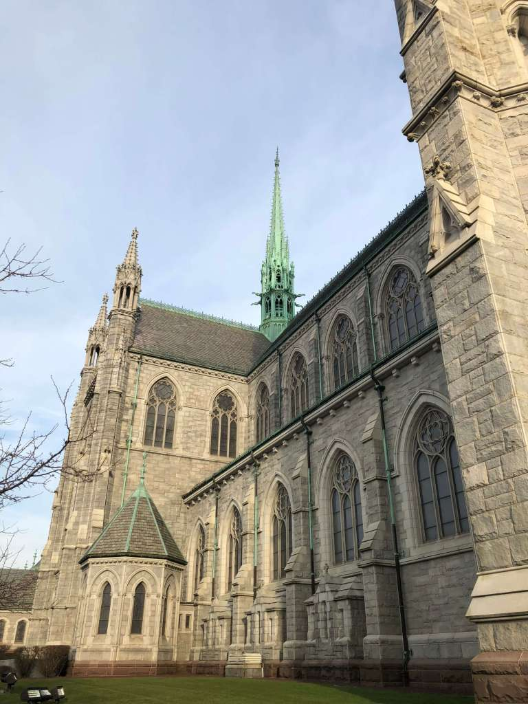 Exterior view - Cathedral Basilica of the Sacred Heart, Newark, New Jersey
