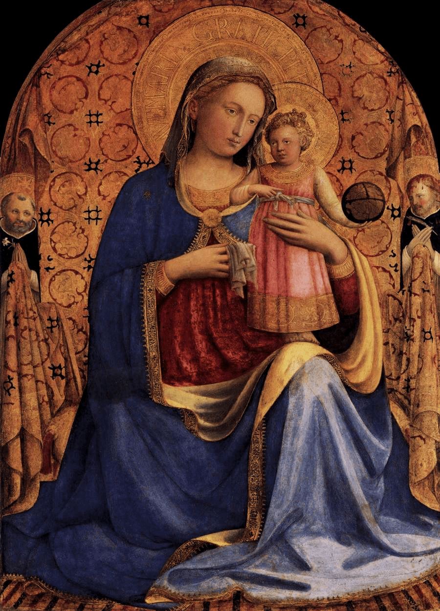 Madonna and Child by Fra Angelico