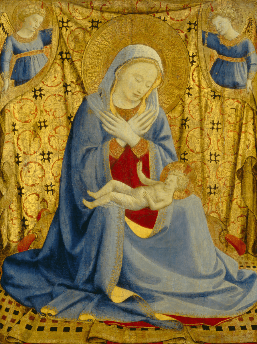 The Madonna of Humility by Fra Angelico
