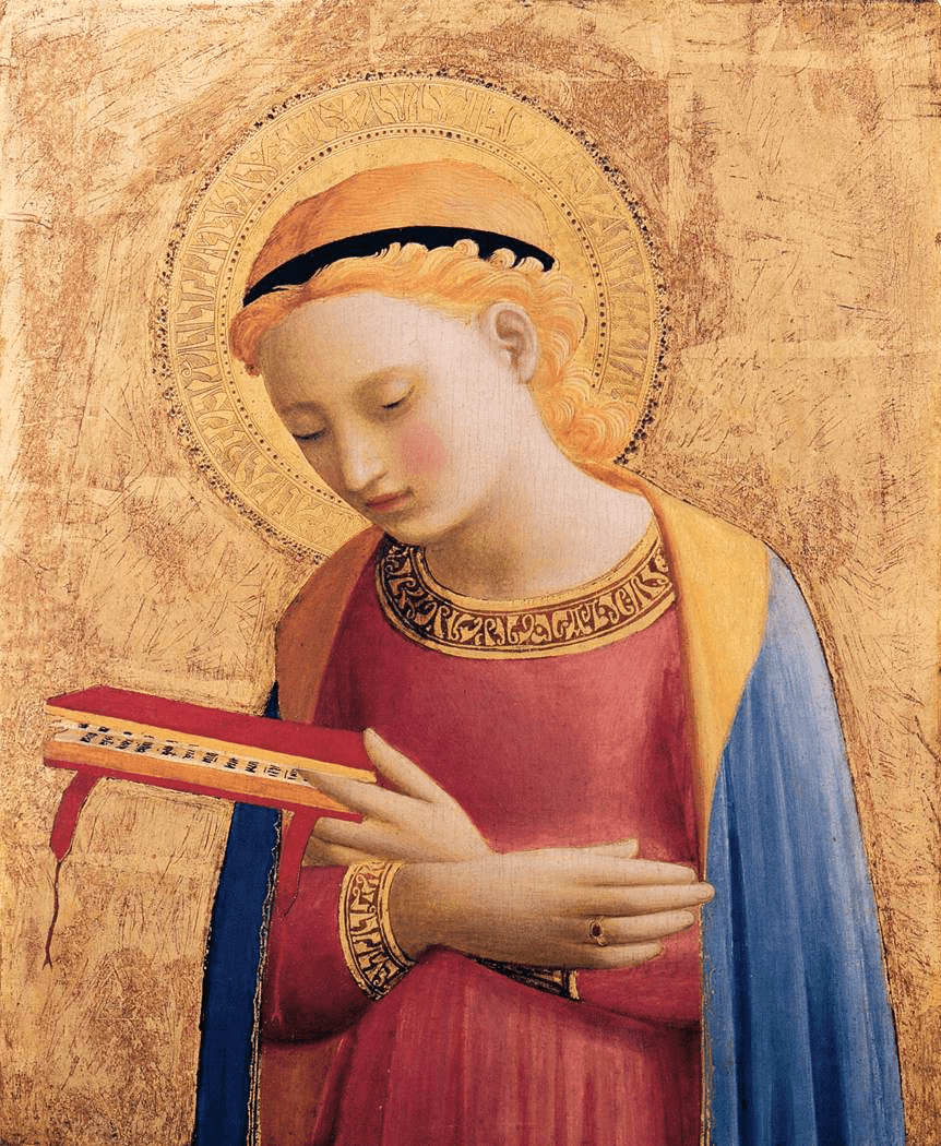 Virgin Annunciate by Fra Angelico
