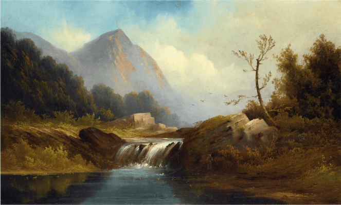Wilderness Idyll by Robert Duncanson