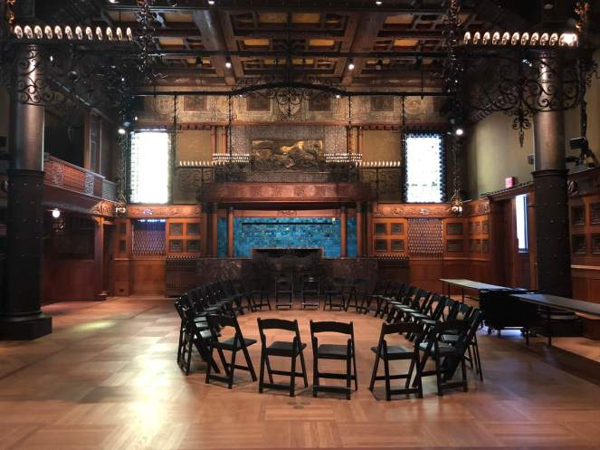 The Veterans Room at the Park Avenue Armory.