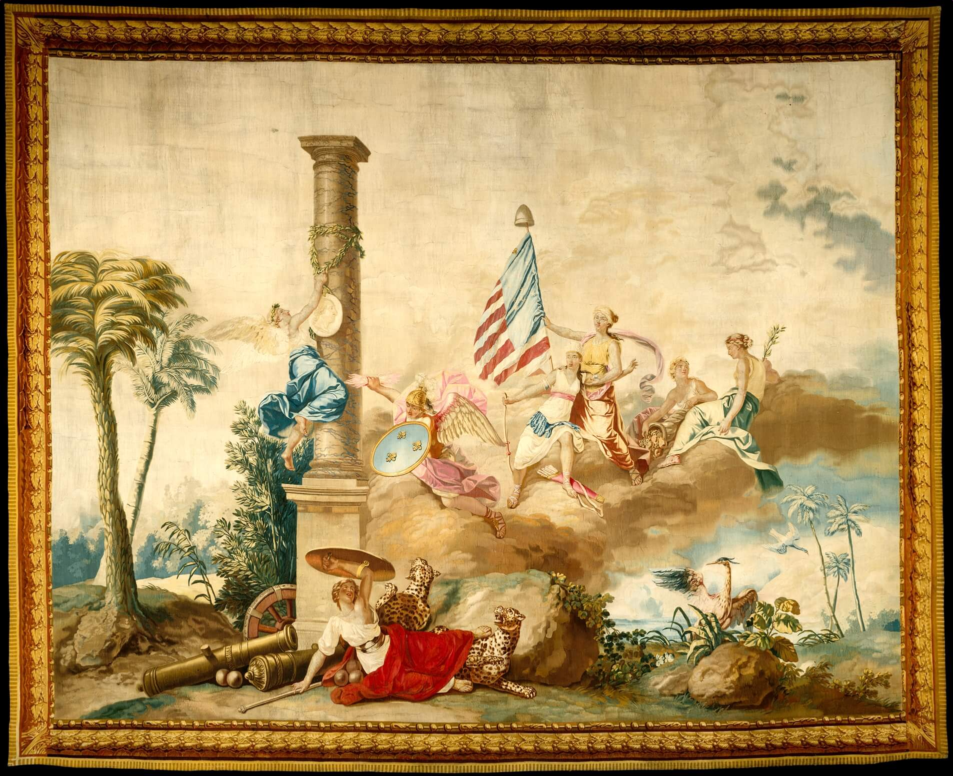 America from a set of The Four Continents