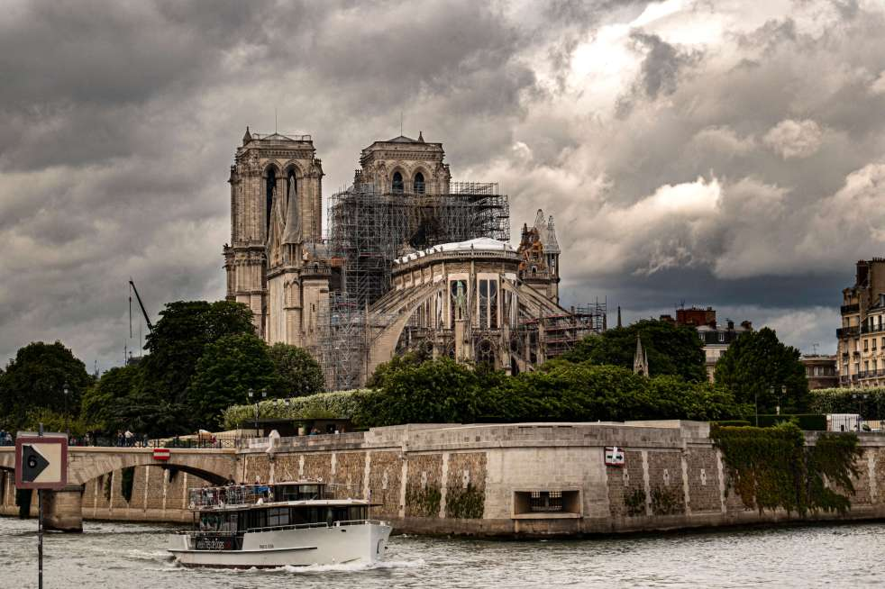 Notre-Dame de Paris in June 2019. Photo by Steven Penton via Flick.