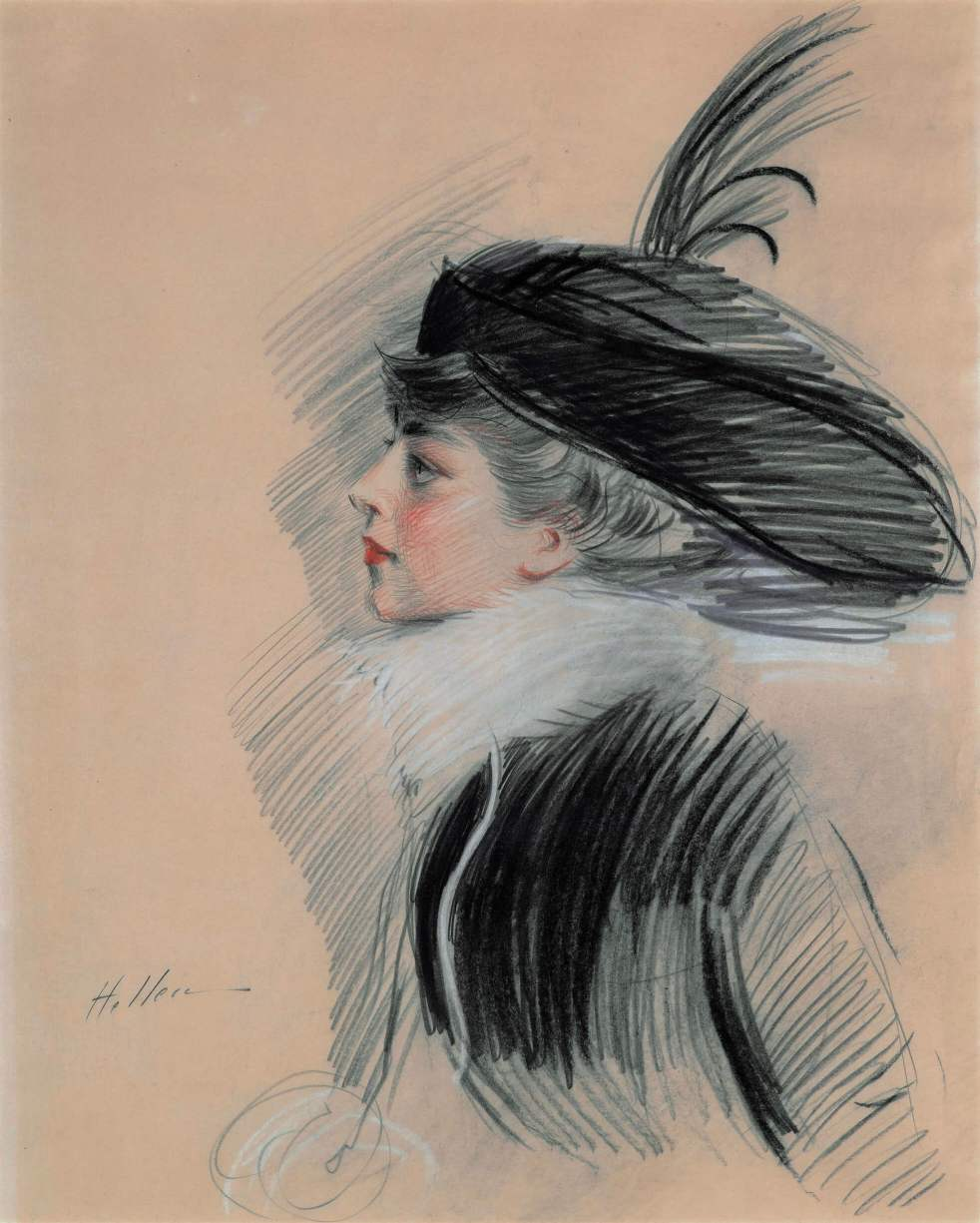 Belle da Costa Greene by Paul Helleu