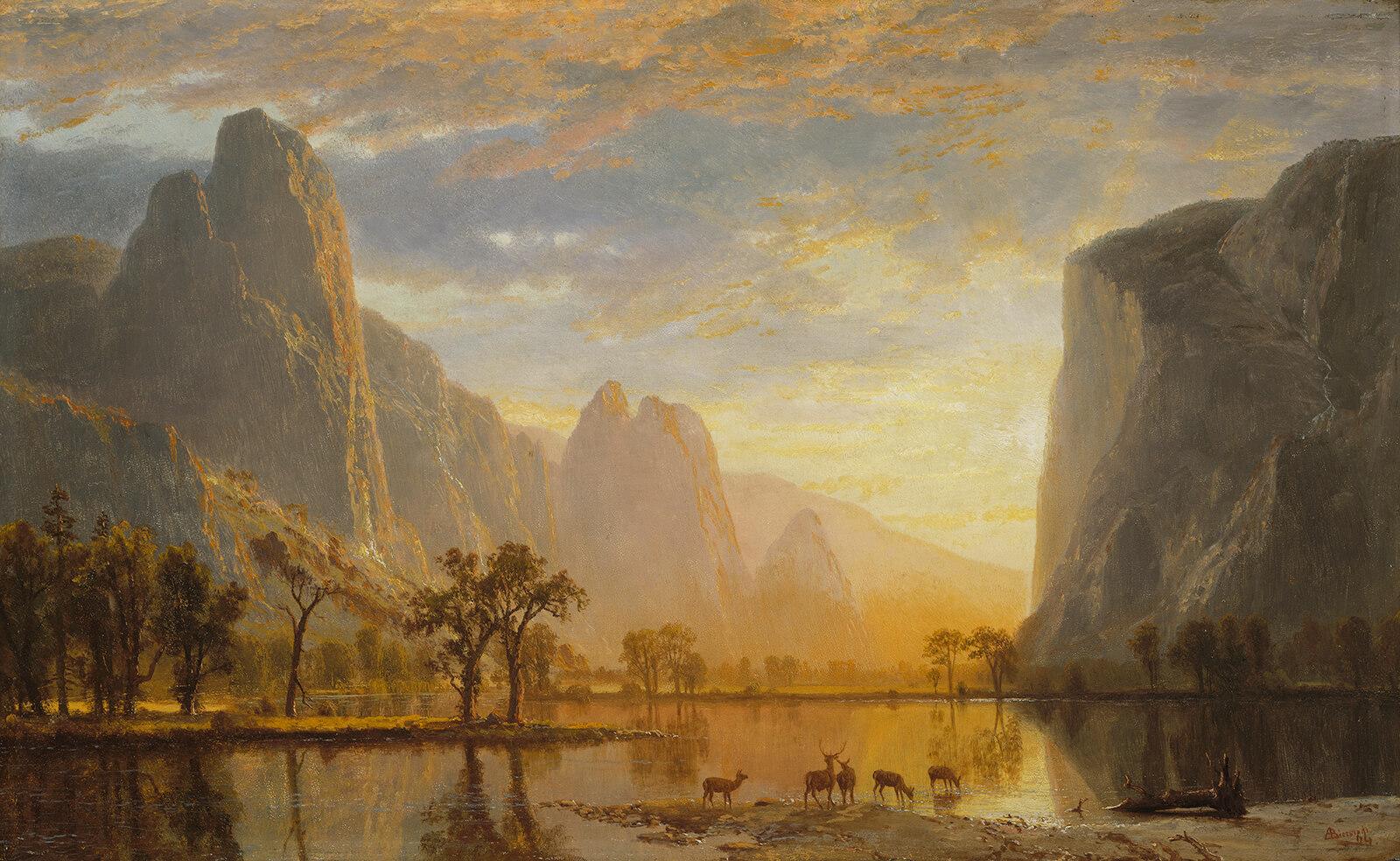 Albert Bierstadt, Valley of the Yosemite