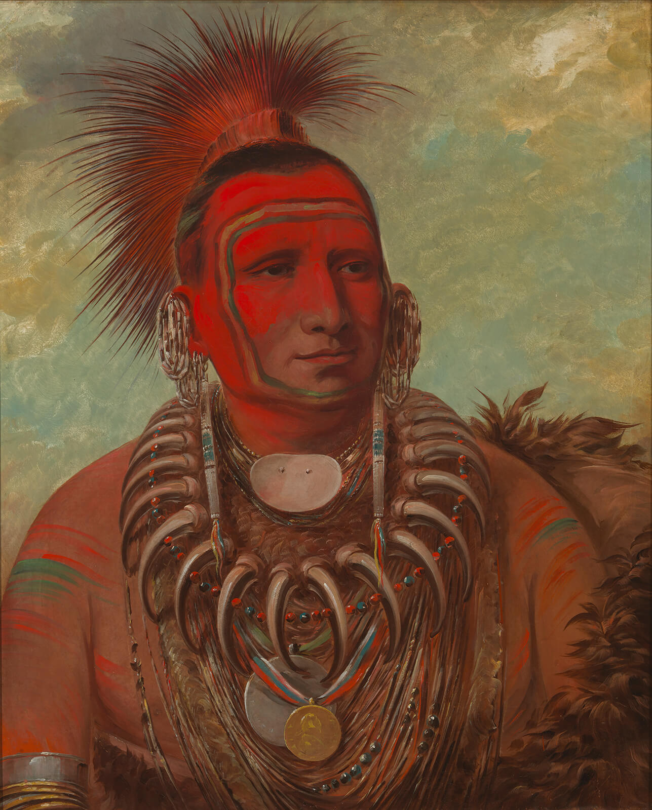 George Catlin, Little Wolf