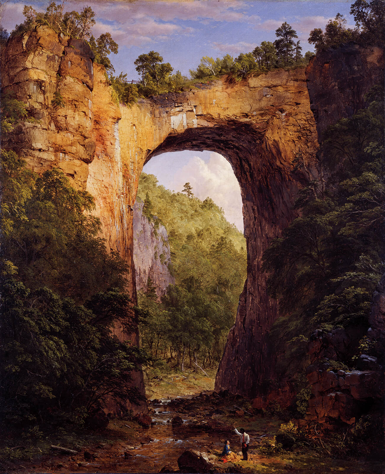 Frederic Edwin Church, The Natural Bridge, Virginia