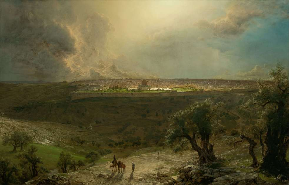 Frederic Edwin Church - Jerusalem from the Mount of Olives