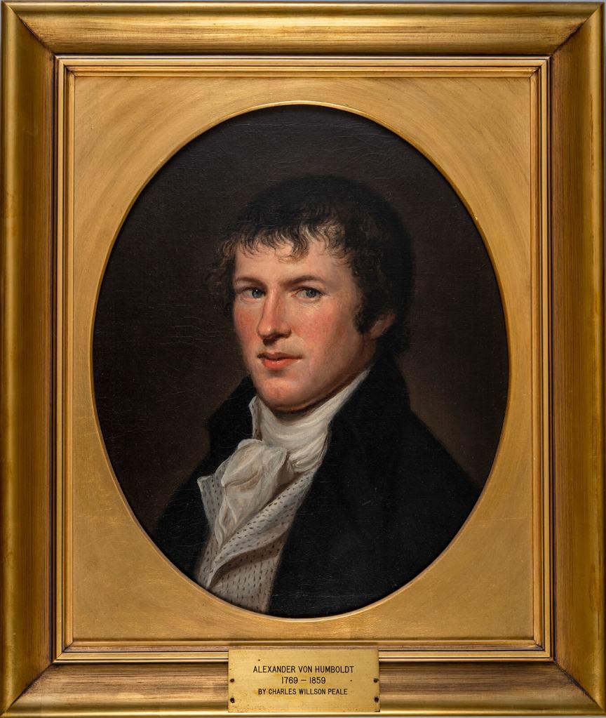 Charles Willson Peale, Portrait of Alexander von Humboldt
