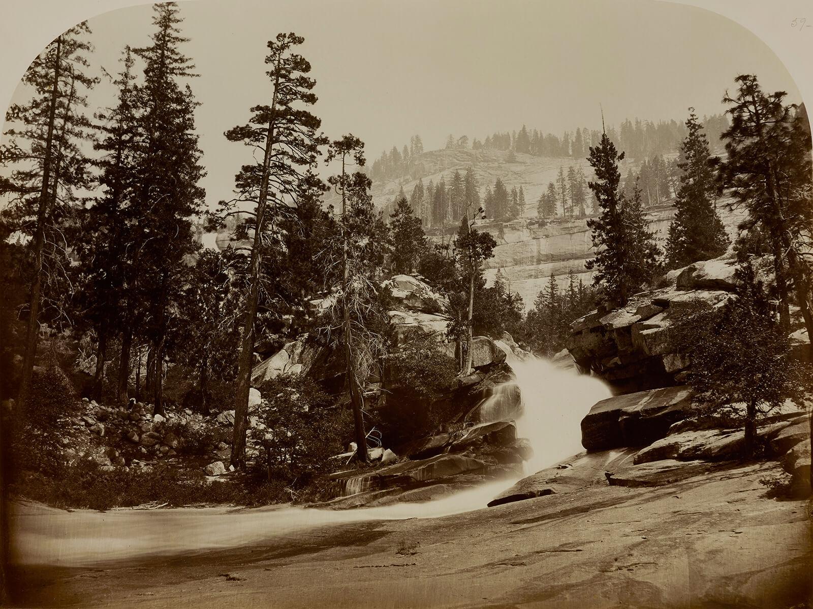 Carleton E. Watkins, Cascade, Nevada Falls