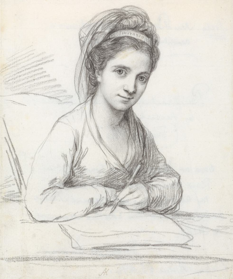 Angelica Kauffman Self-Portrait