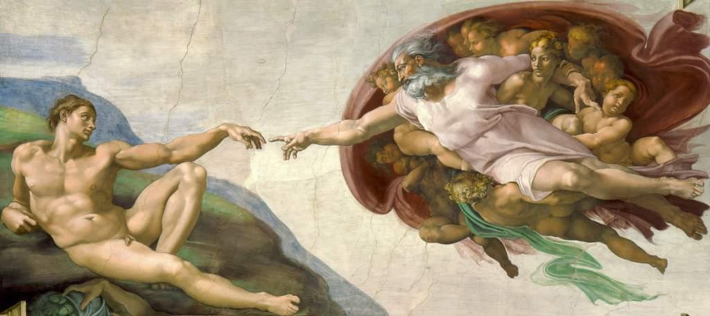 Michelangelo The Creation of Adam
