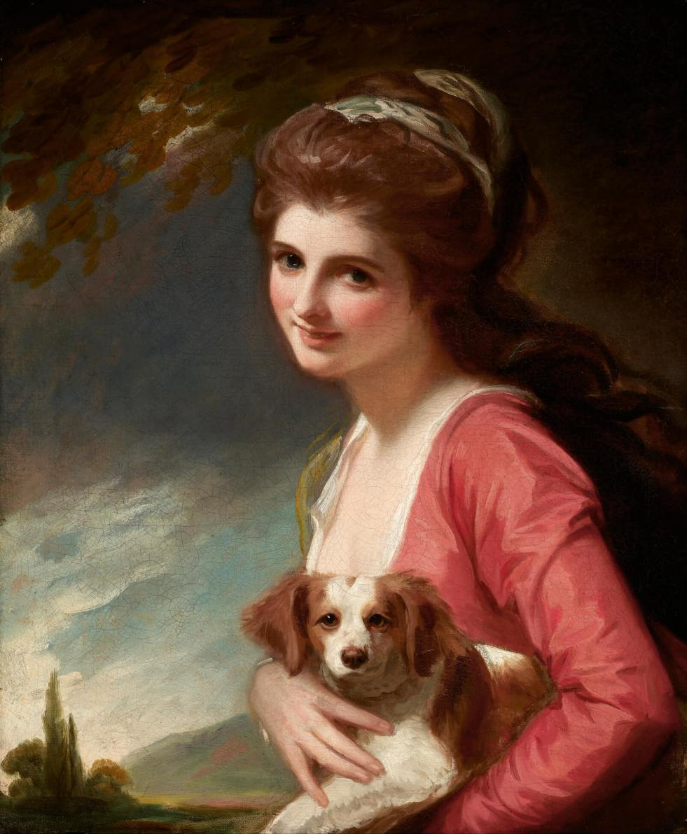 Lady Hamilton as 'Nature' by George Romney Frick Collection